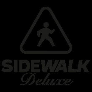Sidewalk Deluxe Coverband Logo Neu